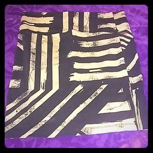 Dresses & Skirts - Abstract Bodycon Skirt